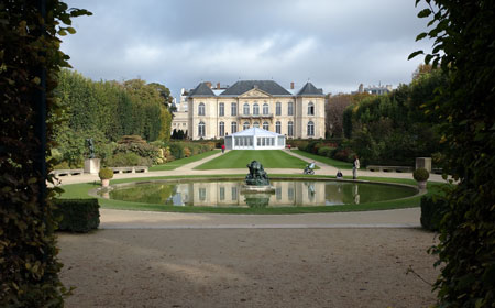 The Gardens of Musee Rodin and the Hotel Biron
