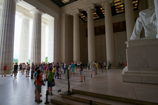 The Lincoln Memorial on a Better Day