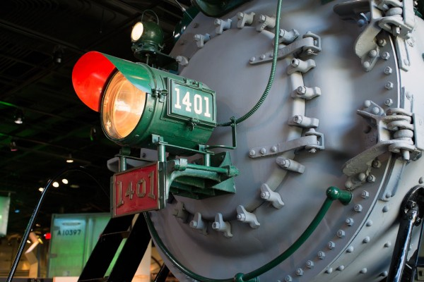 Southern Railway Locomotive 1401 -- Smithsonian Museum of American History (Click image to enlarge)