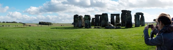 8.  Panoramic of Stonehenge. (Click image to enlarge)