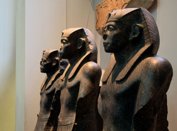 6.  Egyptian sculpture.  (Click image to enlarge)