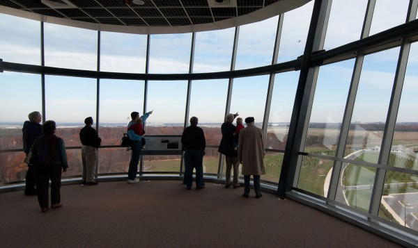 Observation Tower, National Air and Space Museum Udvar-Hazy Center (Click picture to enlarge)